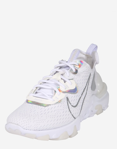 Nike Sportswear Nizke superge 'W NIKE NSW REACT VISON ESS' | siva / bela barva, Prikaz izdelka