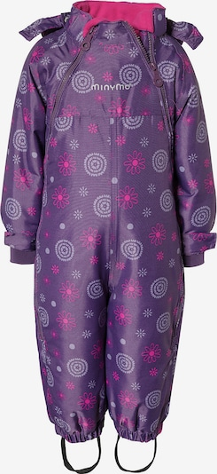 MINYMO Schneeanzug in lila / dunkellila, Produktansicht