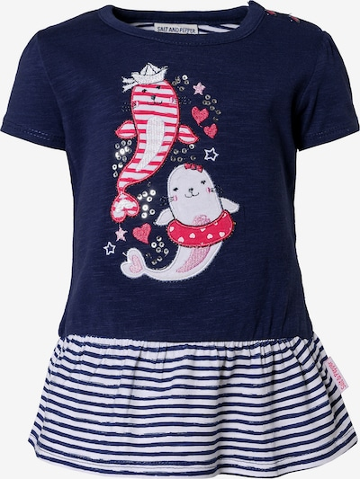 SALT AND PEPPER T-Shirt in dunkelblau, Produktansicht