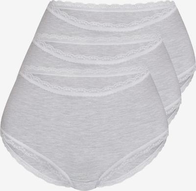 sassa Panty 'Fine Bamboo' in hellgrau / weiß, Produktansicht