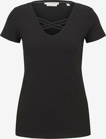 Maglietta di TOM TAILOR DENIM in nero