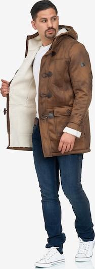 INDICODE JEANS Winterjas 'Calshot' in de kleur Bruin, Productweergave