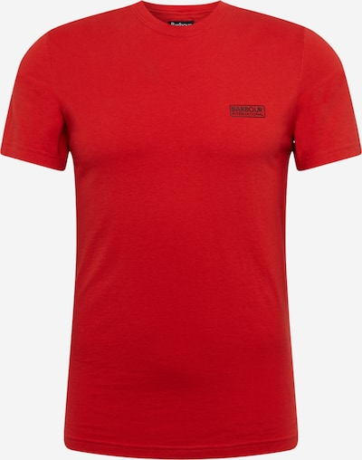 Barbour International Shirt in rot, Produktansicht