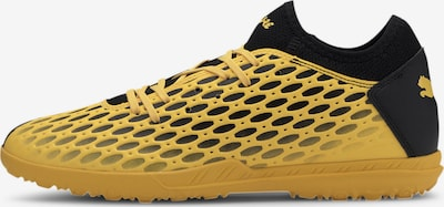 PUMA Voetbalschoen 'FUTURE 5.4 TT' in de kleur Geel / Zwart, Productweergave