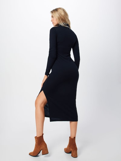 Megzta suknelė iš POLO RALPH LAUREN , spalva - juoda: Vaizdas iš galinės pusės