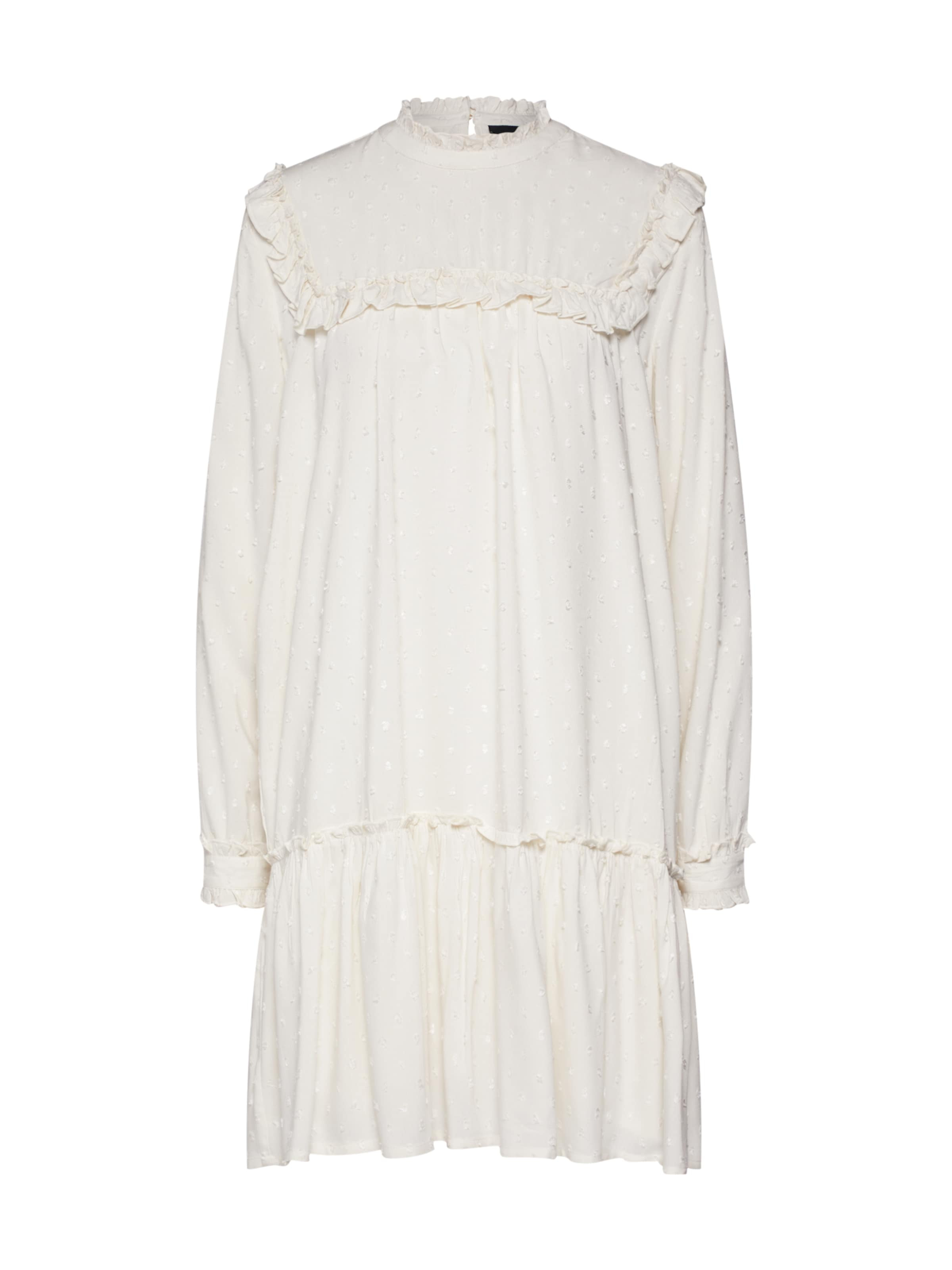 Robe s Dress' chemise En 'objaya Blanc L Object tQhxosrdBC