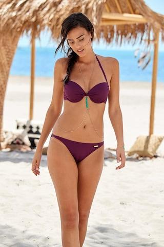 LASCANA Bikinitop 'Kati' in Lila
