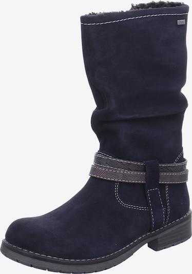 LURCHI Stiefel in kobaltblau / braun, Produktansicht