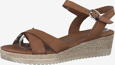 TAMARIS Sandale in braun, Produktansicht