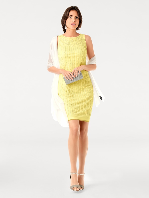 Ashley Brooke By Heine Cocktail Dress With Applications