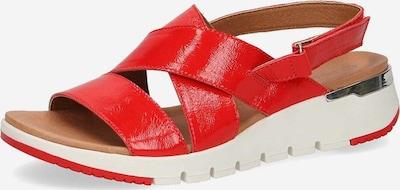 CAPRICE Sandale in hellrot, Produktansicht
