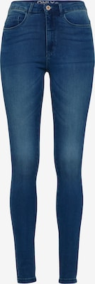 Jean 'Royal High Skinny' - ONLY en bleu