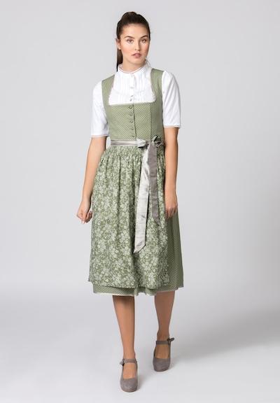 STOCKERPOINT Dirndl 'Adele' in oliv / weiß, Modelansicht