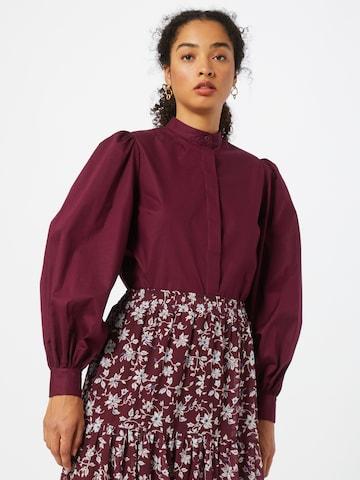 Guido Maria Kretschmer Collection Bluse 'Alicia' i rød
