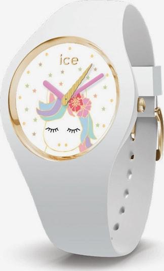 ICE WATCH Uhr 'Fantasia, 16721' in gold / mischfarben / weiß, Produktansicht