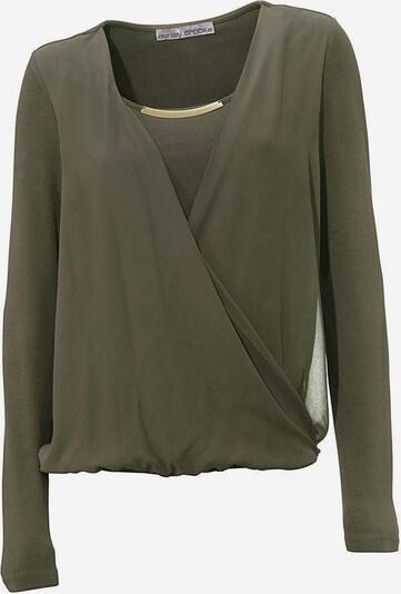 heine Blusenshirt in khaki, Produktansicht