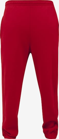 Urban Classics Sweatpants in rot: Frontalansicht