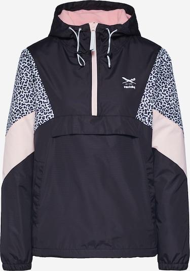 Iriedaily Přechodná bunda 'Blotchy Breaker' - pastelově růžová / černá / bílá, Produkt