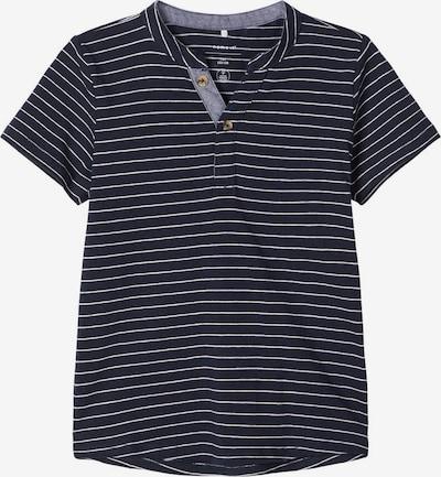 NAME IT T-Shirt in nachtblau / weiß, Produktansicht