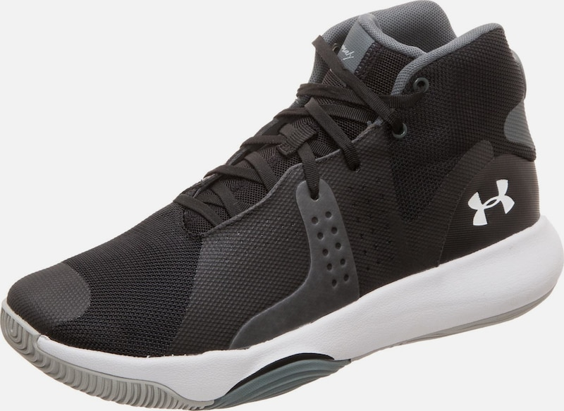 UNDER ARMOUR Basketballschuh 'Anomaly' in basaltgrau / schwarz, Produktansicht