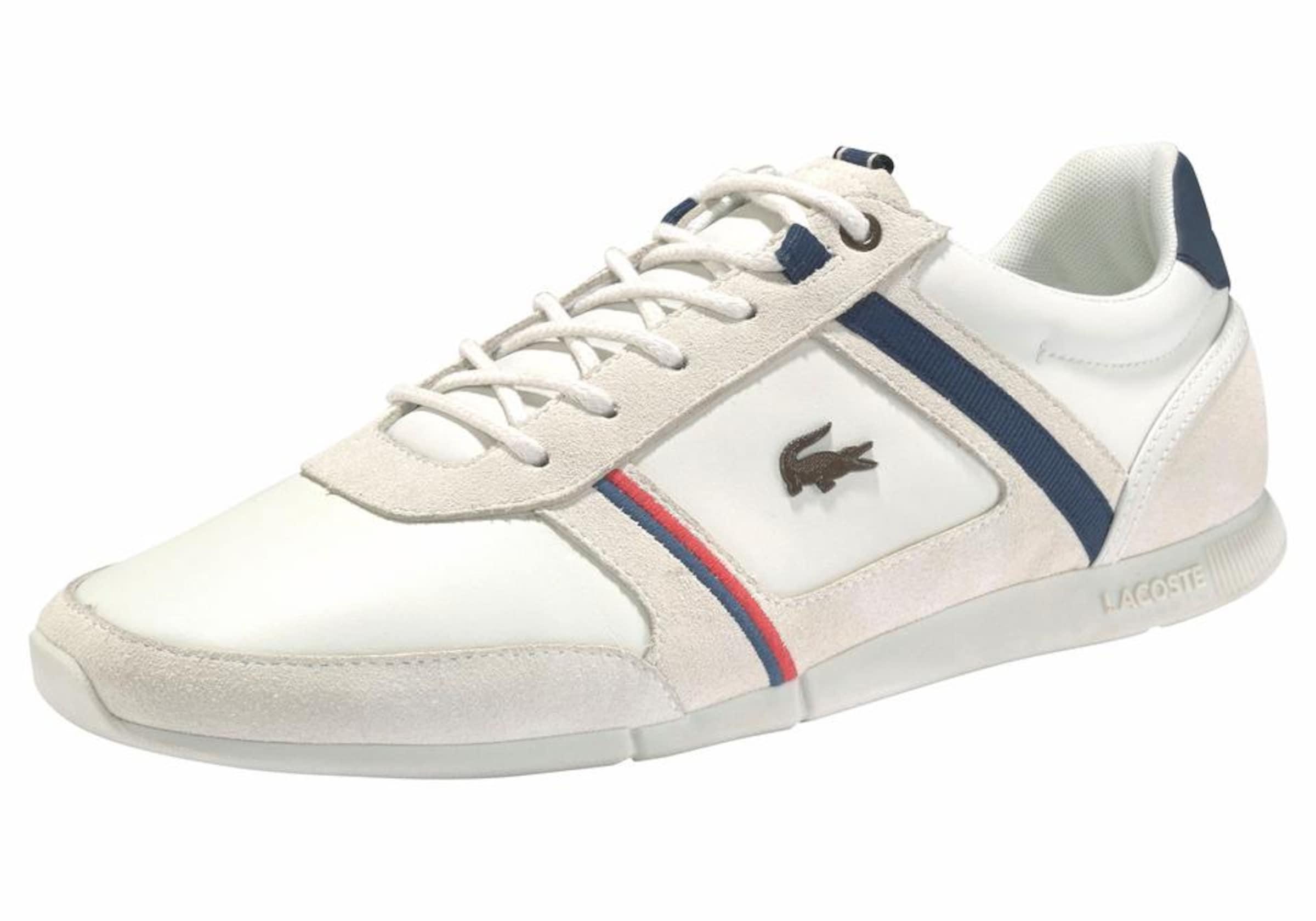 Couche De Chaussures Lacoste Menerva 118 1 « Beige / Blanc VXkyPlmjz