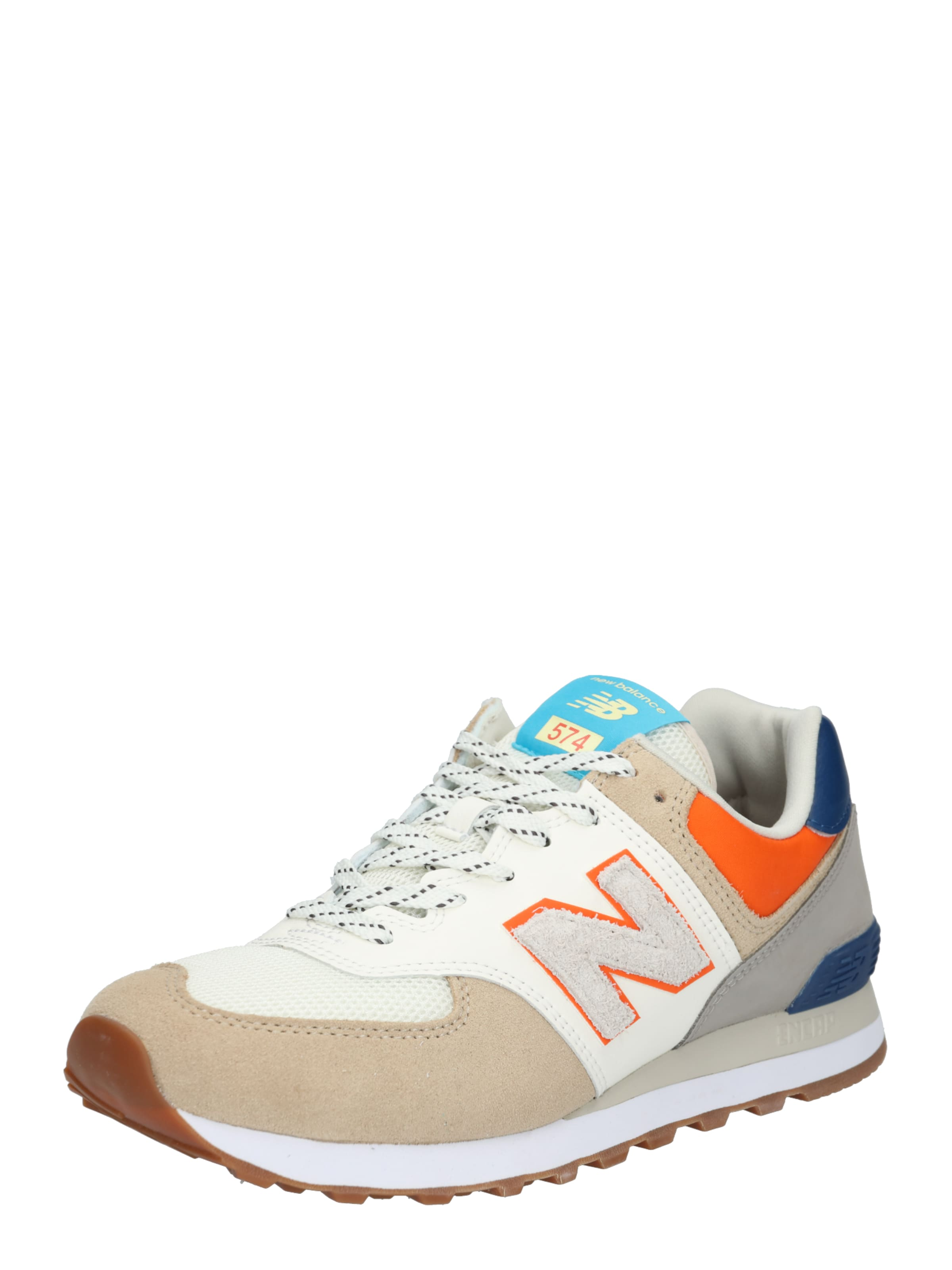 Weiß New 'ml574' Sneaker BeigeBlau In Balance 8On0PZkwXN