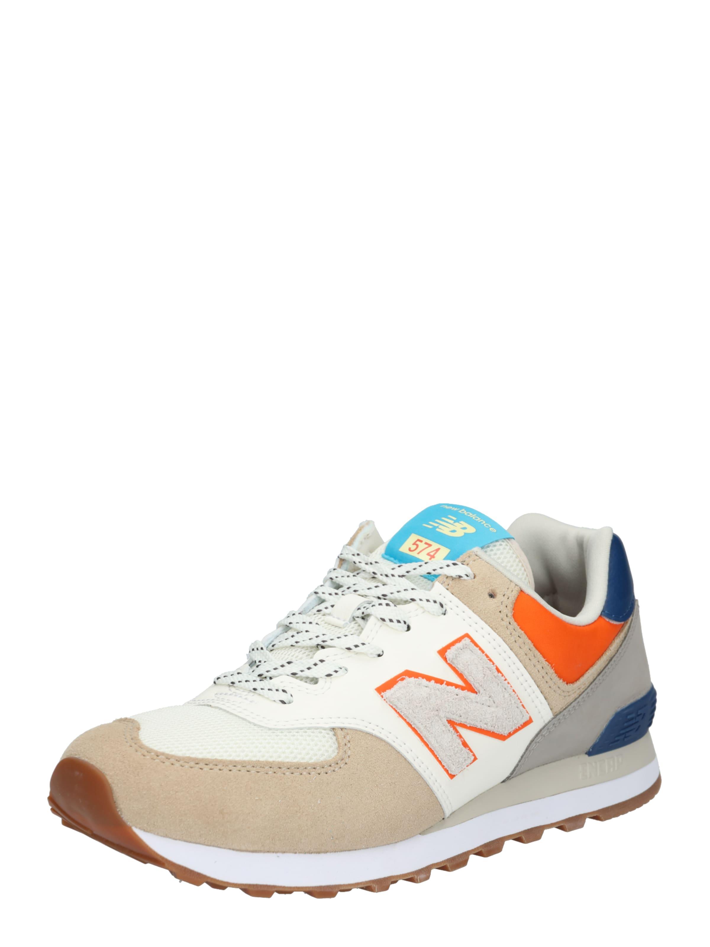 'ml574' In Balance Sneaker New Weiß BeigeBlau 8mnwvN0