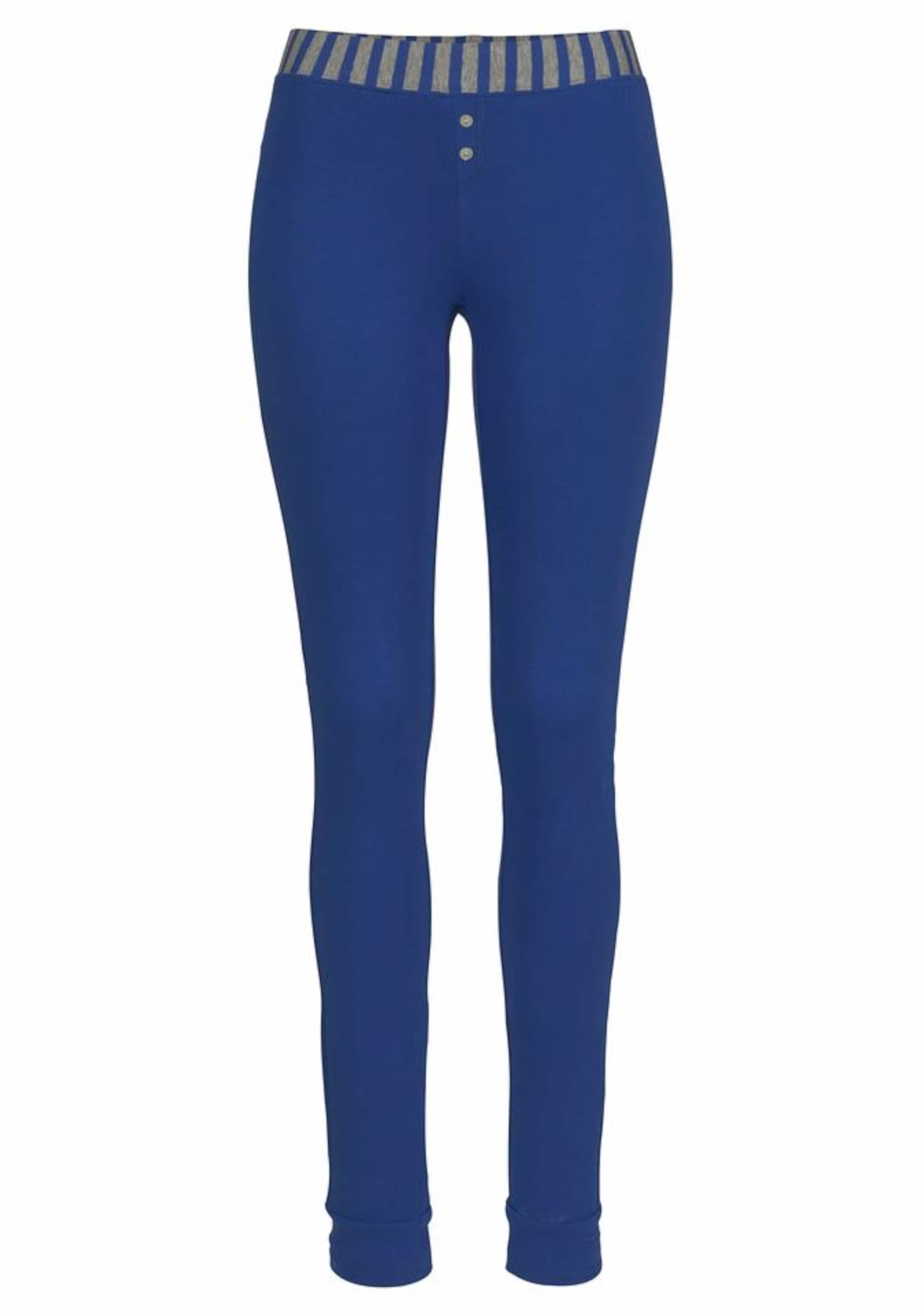 Mit Leggings Buffalo Pyjama In BlauGrau tshQrdC