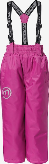 MINYMO Skihose 'Oxford Solid' in pink, Produktansicht