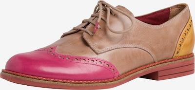 TAMARIS Halbschuh in braun / gelb / pink, Produktansicht