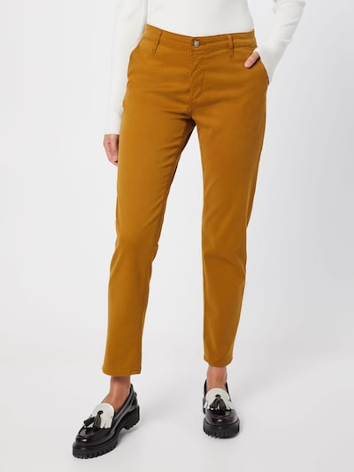 Pantaloni eleganți 'Caden' AG Jeans pe ocru, Vizualizare model