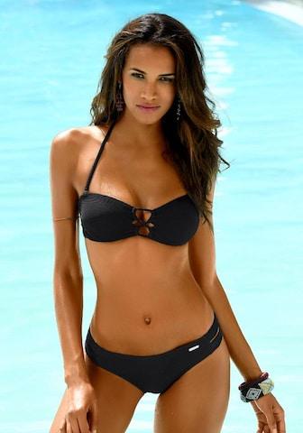 SUNSEEKER Bikinihose 'Fancya' in Black