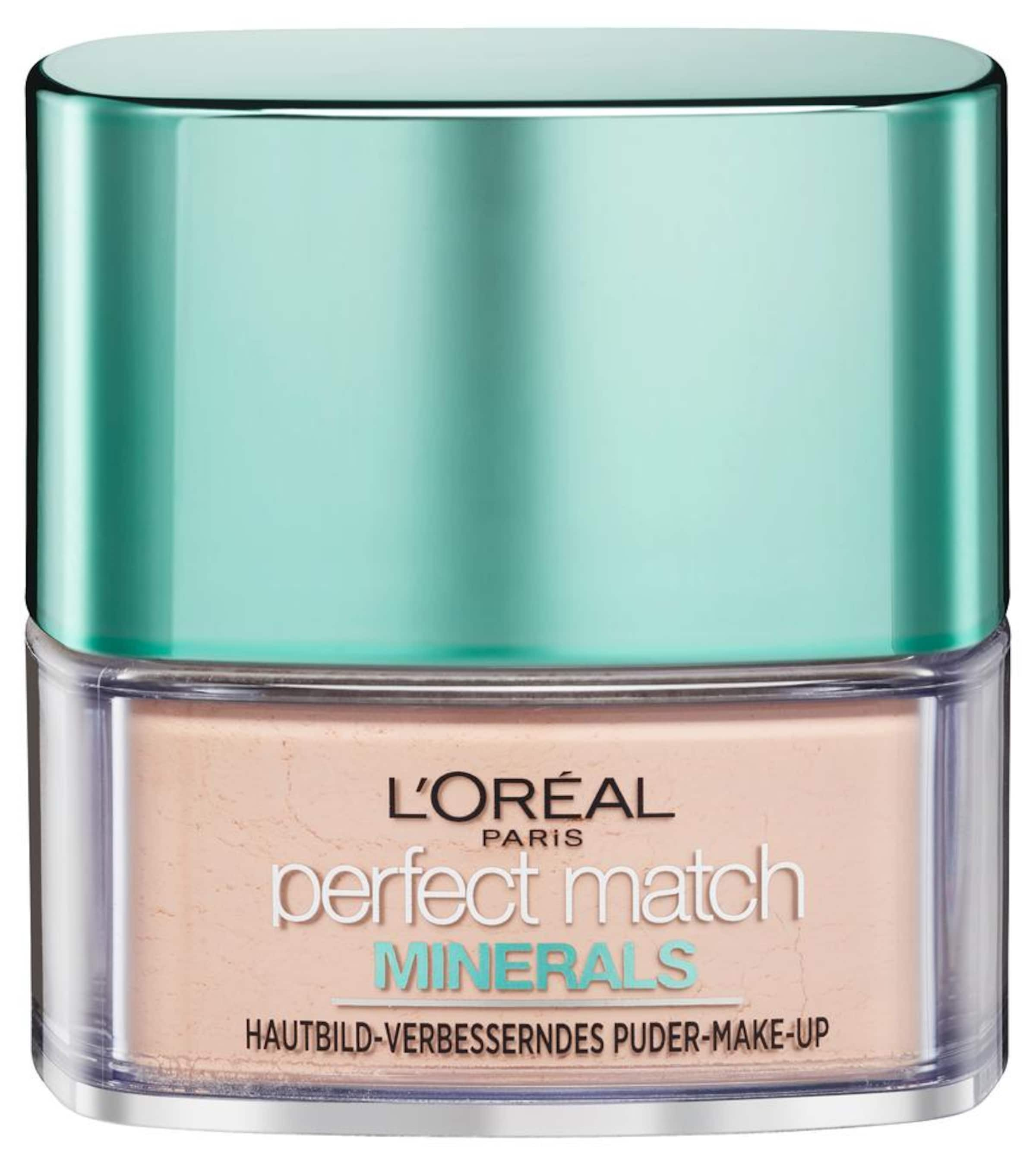 Beige Make In Paris Match L'oréal Puder' 'perfect Minerals up LqSUpGMjVz