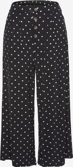 LASCANA Kalhoty - černá / bílá, Produkt