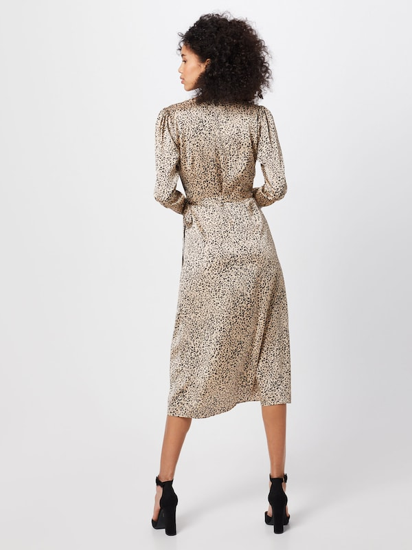 Neo Noir Robe 'Adda New Leo Dress' en beige: Vue de dos