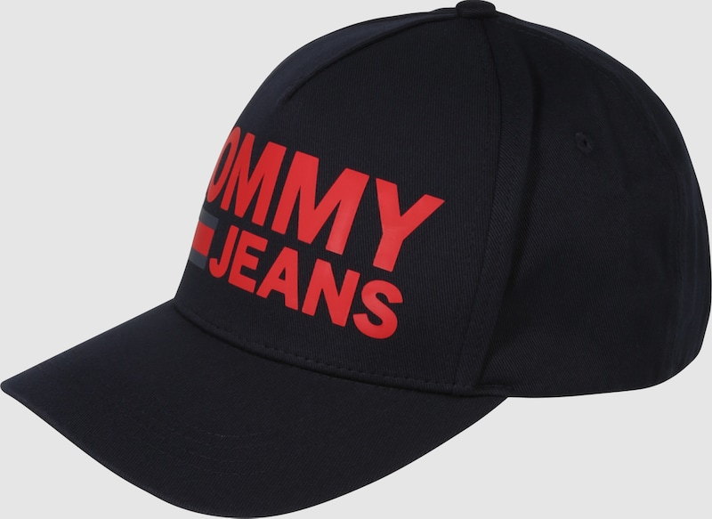 Tommy Jeans Kappe mit Logo-Print