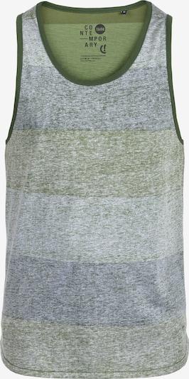 !Solid Tanktop 'Charan' in graumeliert / grün / pastellgrün / mischfarben, Produktansicht