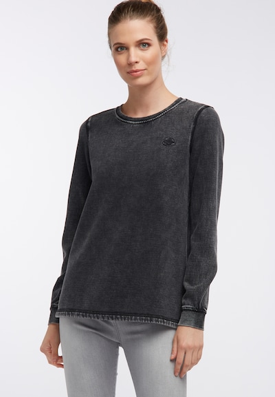 DREIMASTER Sweat-shirt en noir: Vue de face
