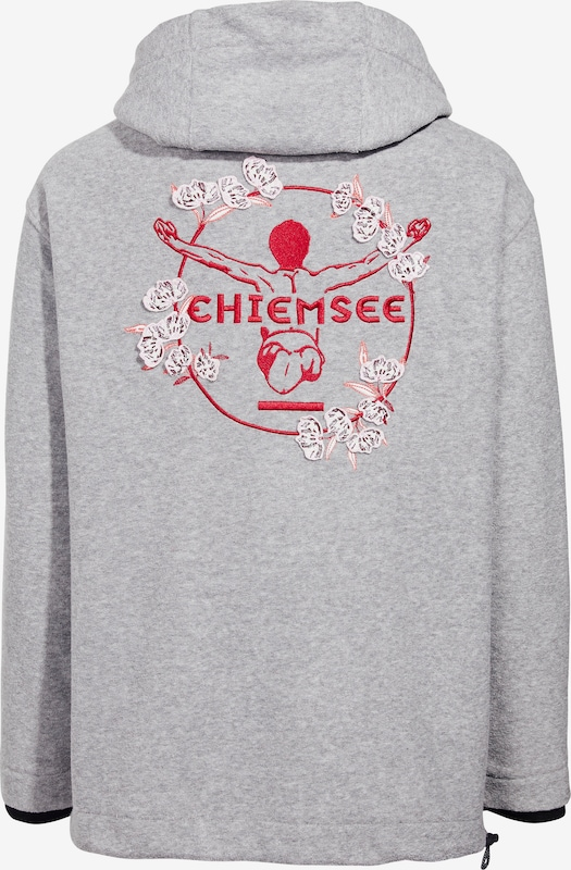 CHIEMSEE Sweatshirt in Grau | ABOUT YOU