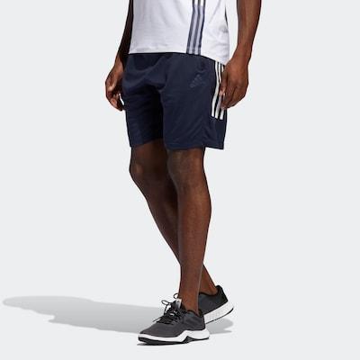 ADIDAS PERFORMANCE Sporthose in blau: Frontalansicht
