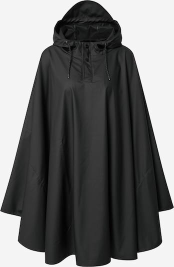 RAINS Cape in schwarz, Produktansicht