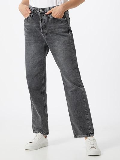 Calvin Klein Jeans Jean 'Dad' en noir, Vue avec modèle