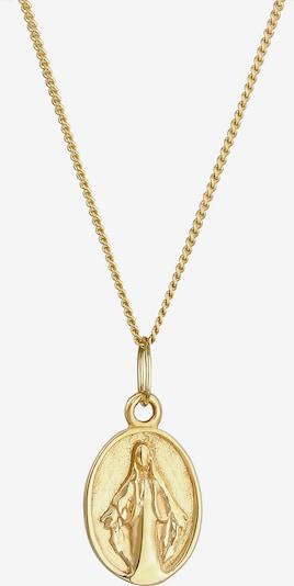 ELLI PREMIUM Halskette Marienbild in dunkelgelb, Produktansicht
