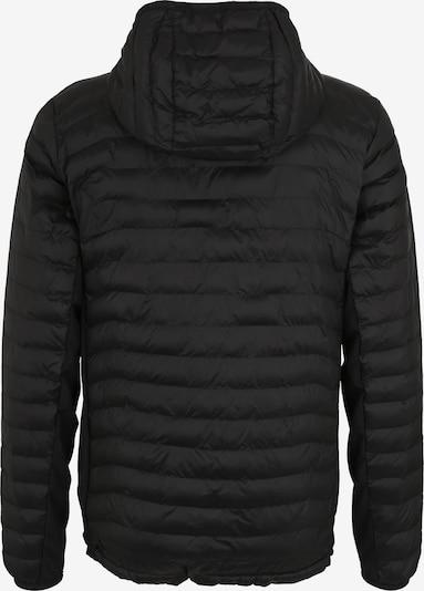 COLUMBIA Sportjacke 'Powder Pass Hooded' in schwarz: Rückansicht