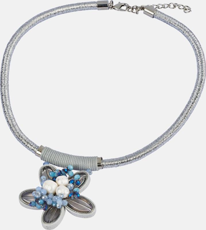 heine Collier mit Blütenanhänger