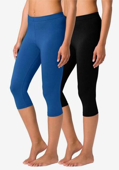 VIVANCE Leggings in blau / schwarz, Modelansicht