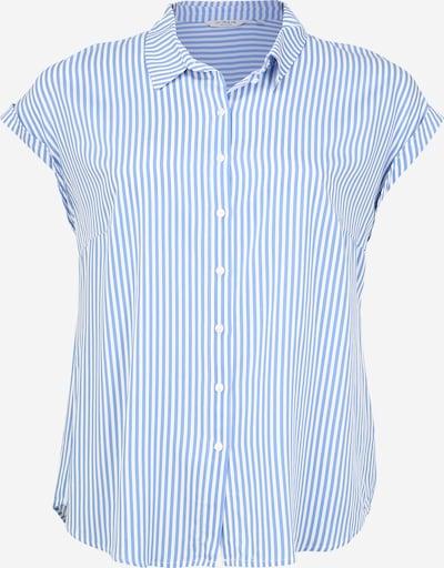 MY TRUE ME Bluse 'Short drop' in blau / weiß, Produktansicht
