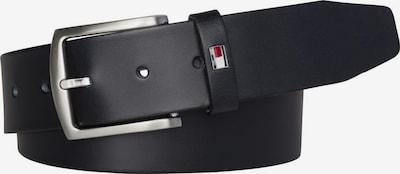 TOMMY HILFIGER Ledergürtel 'DENTON' in schwarz, Produktansicht