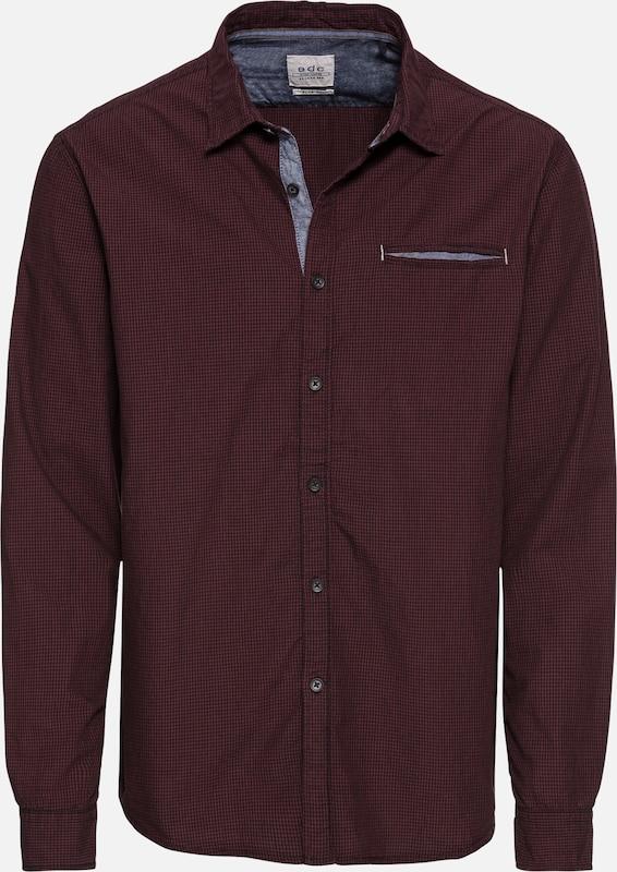 Bordeaux By En Esprit Chemise 'micro Shirts Woven' Edc Check ED2IYWHe9