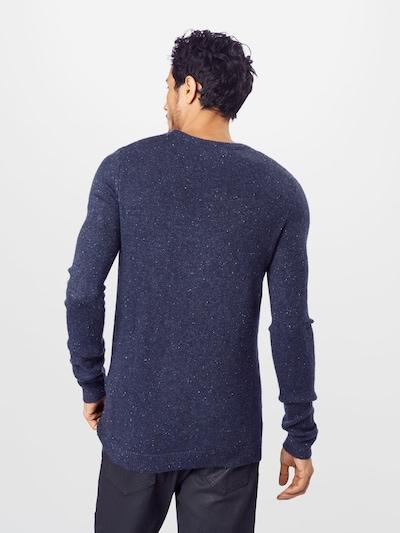 Megztinis iš TOM TAILOR , spalva - tamsiai mėlyna: Vaizdas iš galinės pusės